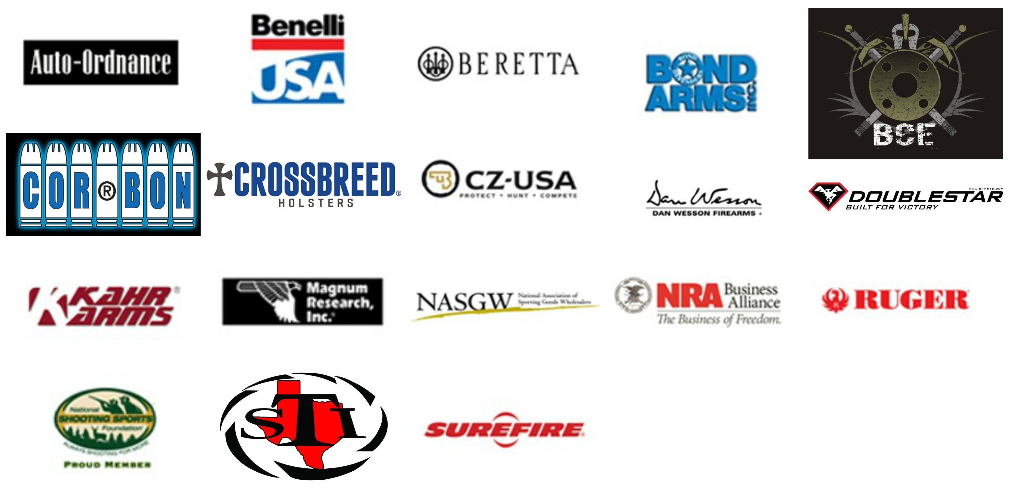 firearms logos